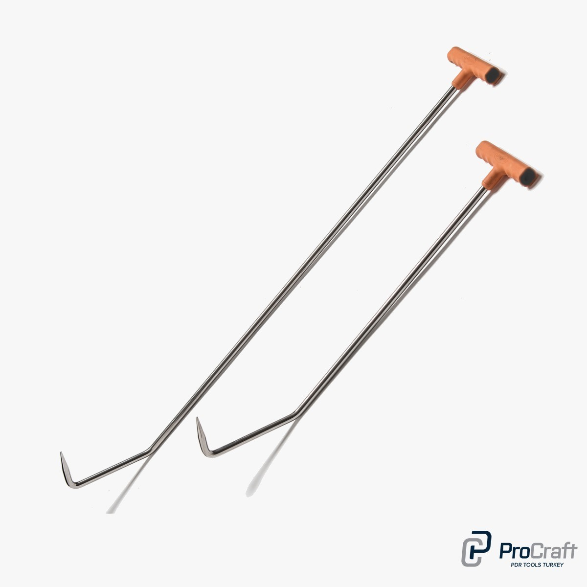 ProCraft Pdr Tools Double Bend Rood Pick Tip (Stainless steel)