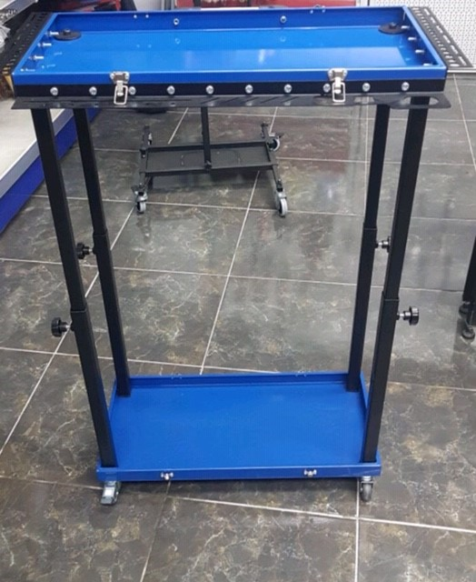 Portable Case Cart Folds into Suitcase Bonnet Stand ProCraft PDR Tools